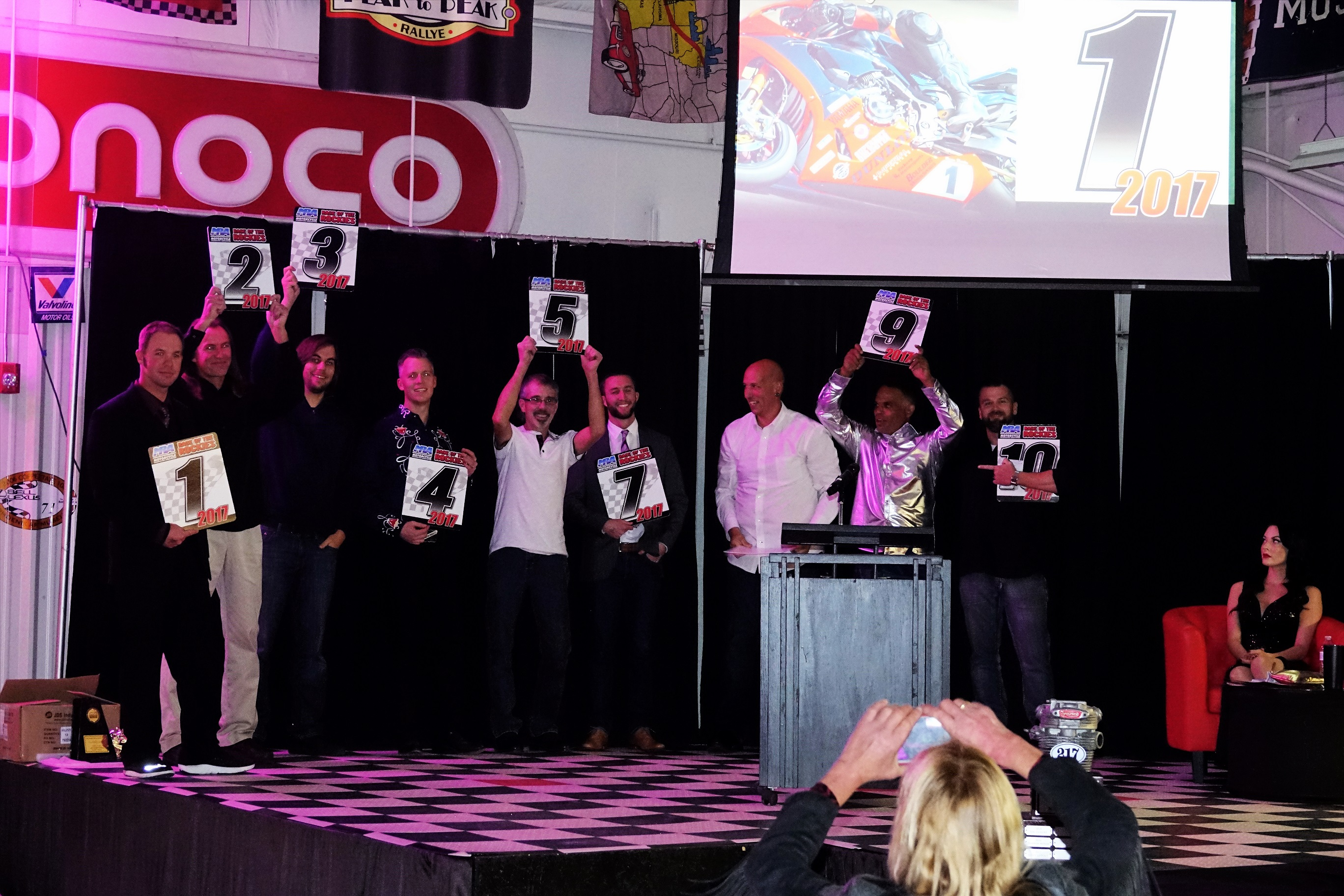 64e583d7d2cda3 MRA Recognizes Top 10 Racers and Special Awards at 2017 Annual Banquet